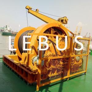 Quality Electric / Hydraulic Crawler Crane Winch Crane Windlass Groove Drum 3 MM~190 MM Dia wholesale