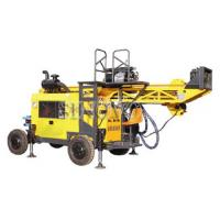 Cheap Full hydraulic-mounted Geological Drilling Rig Diesel Engine With Flexible for sale