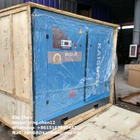 Quality 8 Bar Large Capacity Stationary Screw Air Compressor For Tunnel Projects wholesale