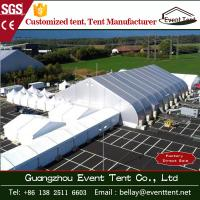 Quality Airplane Aircraft Hangar Tent Curved PVC Cover Roof A Shape Tent Long Service Life wholesale