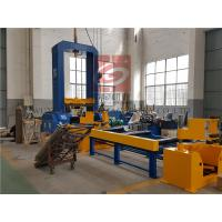 Buy cheap Automatic Spot Welding H-Beam Production Line For Steel Structure / H Beam Production product