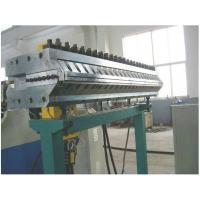 Quality Conical Twin Screw Extruder , PVC Extruder Machine for Wood Plastic Board wholesale