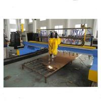 Quality 4000mm Gantry Type CNC Plasma Cutting Machine with vertical and horizontal cutting wholesale