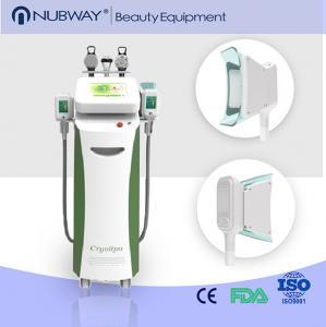 China nubway 5 handles cryolipolysis & cavitation slimming equipment slim freeze weight loss on sale