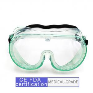 Quality CE Full Encapsulated Eye Protection Goggles , Anti Splash Medical Safety Glasses wholesale