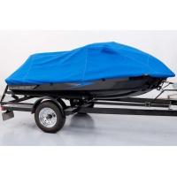 Quality 10M * 4M UV Resistant Blue Color Polyester Boat Cover Heat Resistant Tarp wholesale