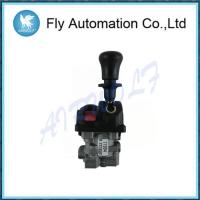 China 12 Bar Dump Truck Hoist Controls 4 Hole / Air Control Valve With PTO Function on sale