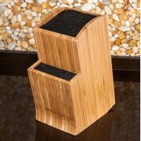 China Universal Totally Bamboo Knife Block Non - Fragile For Festival Home Gift on sale