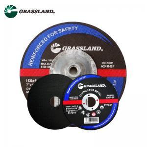 Quality 5 Inch Reinforced Fiberglass Metal Cut Off Discs 125 X 3.2 X 22Mm wholesale