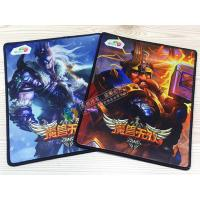 China Computer keyboard gaming mouse pads, best quality durable mousemats on sale