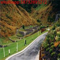China gabion basket fence/cages for stone walls/ wire basket rock retaining wall/ gabion wire baskets price on sale