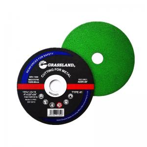"""Quality GRASSLAND 4"""" 100mm Stainless Steel Cutting Discs x 1mm x 16mm Angle Grinder wholesale"""