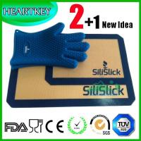 Quality 2+1 Non-stick Oven Silicone Baking Mat Set wholesale