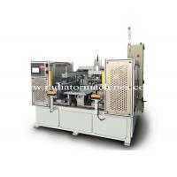 Quality Semi Automatic Radiator Core Builder Machine with Replacalbe Header Mold wholesale