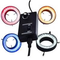Quality micrscope ring light  colorful led ring light yellow red blue colors wholesale