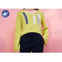 Quality Long Sleeves Crew Neck Sweater Womens Embroidered Spring Clothing Multi Size wholesale