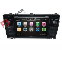 Quality Left Hand Driving Toyota DVD GPS Navigation For Toyota Corolla 2014 Navigation System wholesale