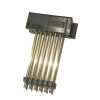Quality 12P 2.54 Pitch Box Header Connector Straight PBT Black , Add Plastic ROHS wholesale