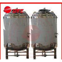 Quality 10BBL SUS304L / SUS306L Brite Beer Tank 80 Insulation Thickness wholesale
