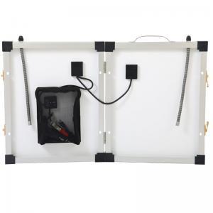 China Monocrystalline Foldable Portable Solar Panels 40W 18V High Efficiency Sunpower Cells on sale