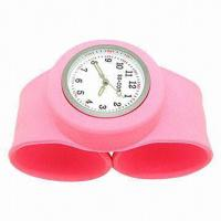 Quality silicone watch bracelet, promotional  silicone wristbands  watch wholesale