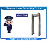 Quality 6 / 12 / 18 Zones Portable Metal Detector UB600 For Security Checking wholesale