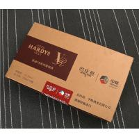 Quality manufacturers produce customized red wine boxes, professional supply MDF wine packaging boxes, hardcover trays wholesale