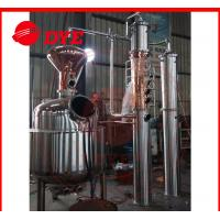 Quality Semi-Automatic Commercial Alcohol Distilling Equipment 1 - 3Layers wholesale