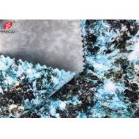 China Waterproof Polyester Spandex TPU Coated Fabric Transparent Film Fabric For Garment on sale