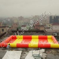 Quality Colorful Wholesale Inflatable Water Pool for outdoor(CY-M1507) wholesale