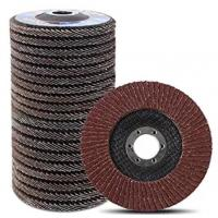 Quality Type 27 Flap Disc Flap Wheel 4 Inch 100mm for Angle Grinder, Aluminum Oxide Abrasive(Abrasive Tools) China factory wholesale