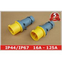 Quality Weatherproof 110v 4h Industrial Plugs Male Socket 2P+E , Heavy Duty wholesale