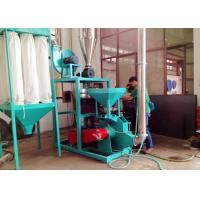 Quality 50HZ PP Plastic Pulverizer Machine Abrasion Resistance No Dust Voltage Protection wholesale