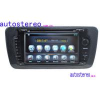 China Seat Ibiza Car Stereo Sat Nav , Touch Screen Car Stereo with Sat Nav on sale