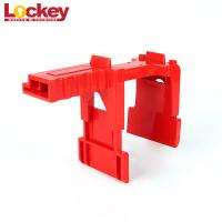 Quality Lockey 1/2 To 2 3/4 Adjustable Ball Valve Lockout Devices With Front Back Foot Board wholesale