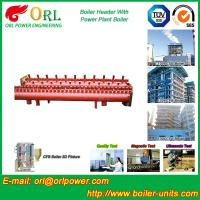 Quality Industrial Steam CFB Boiler Header / Low Loss Headers Low Pressure wholesale