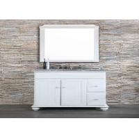 Quality Anti Microbial Solid Surface Vanity Tops Easy Cleaning High End Bathroom Decor wholesale