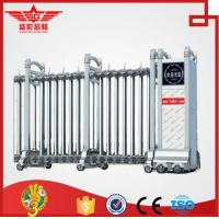 Quality SSCL stainless steel automatic folding door for company main gate-J1337 wholesale