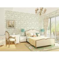 Cheap Customized Logo Decorative 3D Textured Wall Panels Colorful  Wallpaper 1.5 cm Thickness for sale