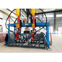 China 200-800 Mm Web Width H Beam Production Line LMH-5000 Automatic Customized Rail Distance on sale