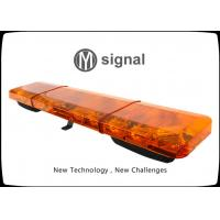Quality Waterproof Amber Led Light Bar , High Strength Emergency Vehicle Warning Lights wholesale