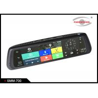 Quality Android 5.0 Car Rearview Mirror DVR Full HD 1080P Dual Camera WIFI GPS G-sensor Recycle Recording wholesale