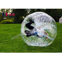 Cheap Popular Inflatable Water Walking Ball , Bubble Soccer Ball For Entertainment for sale