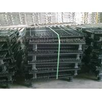 Quality Stackable Convenient Wire Mesh Container Unload Wire Container Storage Cages wholesale