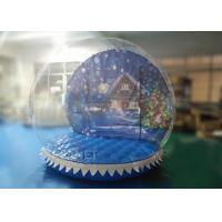 China PVC Inflatable Snow Globe Yard Decoration For Advertising 3 Years Warranty on sale