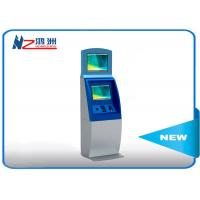 Quality All In One Bill Accept SIM Card Dispenser Kiosk Ticketing Payment Windows 7/8/10 OS wholesale