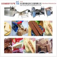 Quality Wafer Biscuit Making Machine Wafer Production Line Machinery from China wholesale