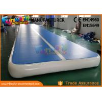 Buy cheap Durable Outdoor Inflatable Sports Games Air Gym Mat 10 x 2 x 0.2m from wholesalers