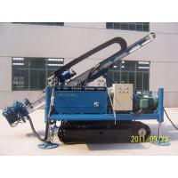 China Great Torque Portable Drilling Rigs , Crawler Drilling Machines on sale