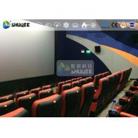 Quality CE Approval 4D Digital Cinema Equipment With Curved Screen / HD Projectors wholesale